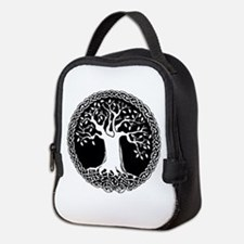 Celtic Tree Neoprene Lunch Bag