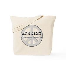 10x10_apparel_atheistpeace_white Tote Bag