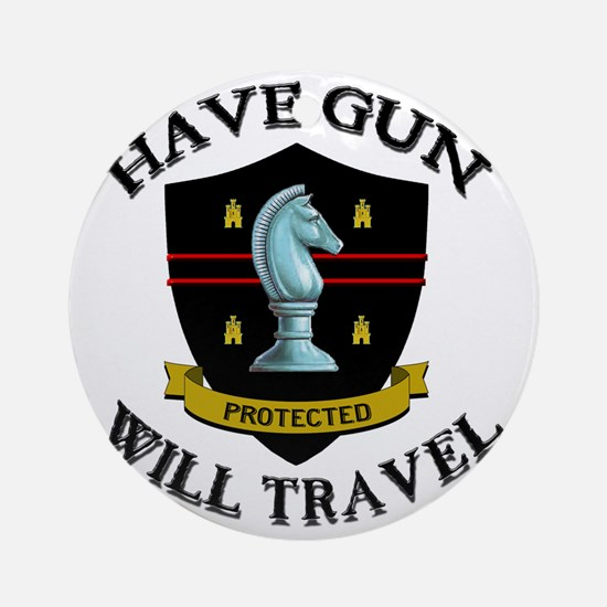 haveguncenter Round Ornament