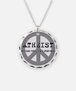 10x10_apparel_atheistpeace c Necklace