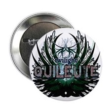 """Twilight Quileute Green 2.25"""" Button"""