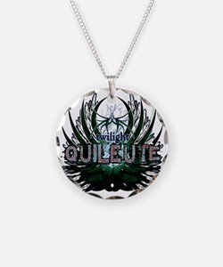 Twilight Quileute Green Necklace