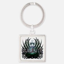 Twilight Quileute Green Square Keychain