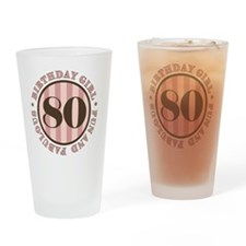 FunAndFab 80 Drinking Glass