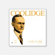 "FQ-08-D_Coolidge-Final Square Sticker 3"" x 3"""