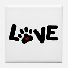Love (Pets) Tile Coaster