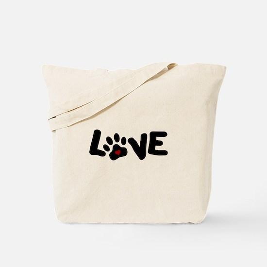 Love (Pets) Tote Bag