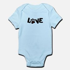 Love (Pets) Infant Bodysuit