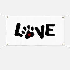 Love (Pets) Banner