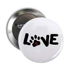 "Love (Pets) 2.25"" Button"