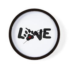 Love (Pets) Wall Clock