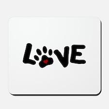 Love (Pets) Mousepad