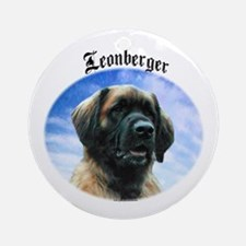 Leonberger Clouds Ornament (Round)