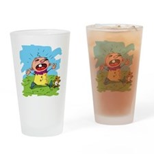screamer Drinking Glass