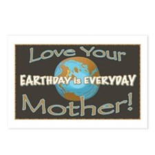 Love Your Mother Earth Day  Postcards (Package of