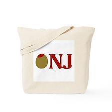 Olive (I Love) NJ Tote Bag