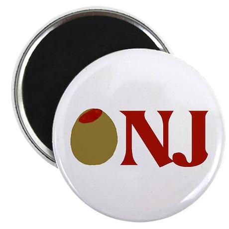 Olive (I Love) NJ Magnet
