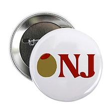 "Olive (I Love) NJ 2.25"" Button"