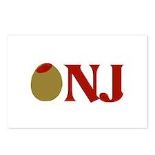 Olive (I Love) NJ Postcards (Package of 8)