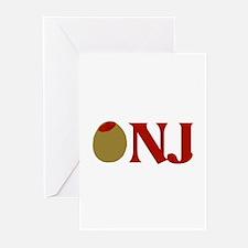 Olive (I Love) NJ Greeting Cards (Pk of 10)