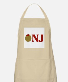Olive (I Love) NJ BBQ Apron