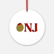 Olive (I Love) NJ Ornament (Round)