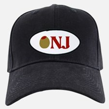 Olive (I Love) NJ Baseball Hat