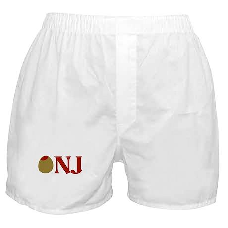 Olive (I Love) NJ Boxer Shorts