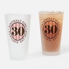 FunAndFab 30 Drinking Glass