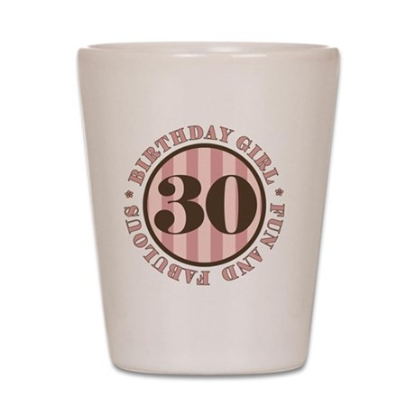 FunAndFab 30 Shot Glass