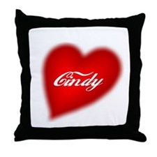 I love Cindy products Throw Pillow
