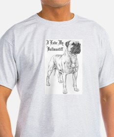 THE Bullmastiff Ash Grey T-Shirt