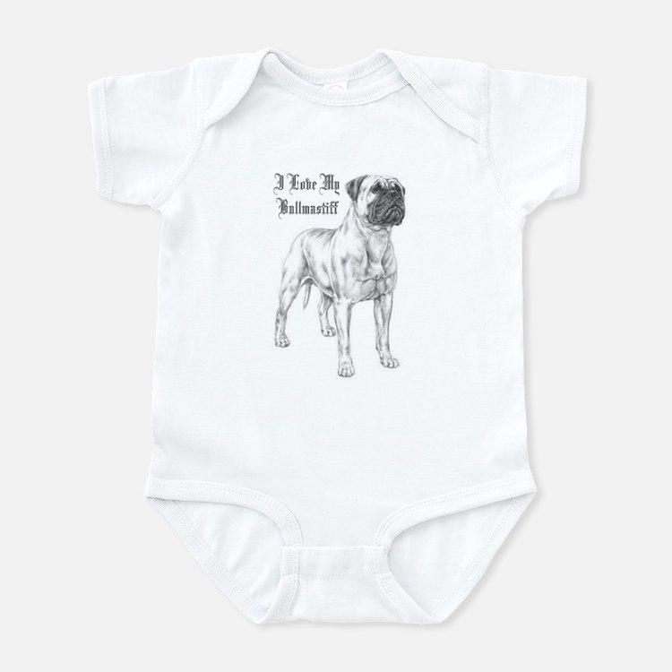 THE Bullmastiff Infant Bodysuit
