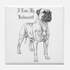 THE Bullmastiff Tile Coaster