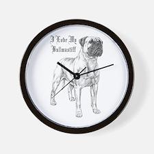 THE Bullmastiff Wall Clock