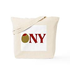 Olive (I Love) NY Tote Bag