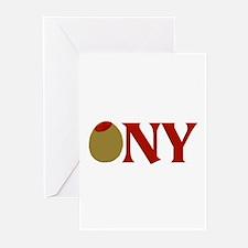 Olive (I Love) NY Greeting Cards (Pk of 10)