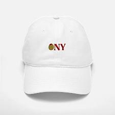 Olive (I Love) NY Baseball Baseball Cap