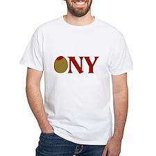 Olive (I Love) NY Shirt