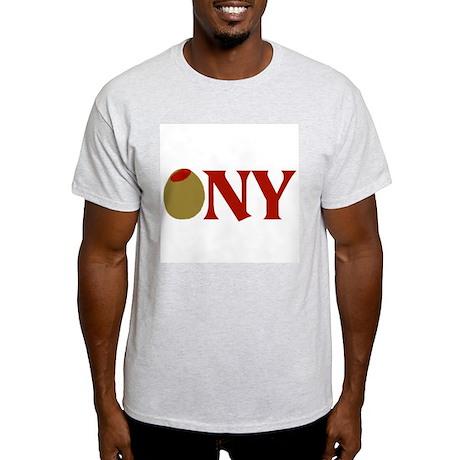 Olive (I Love) NY Light T-Shirt