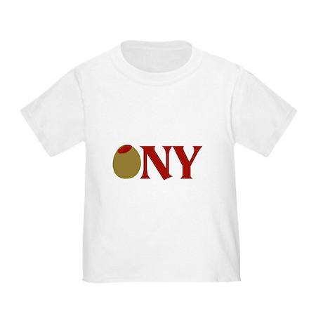 Olive (I Love) NY Toddler T-Shirt