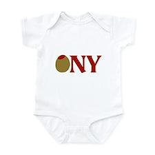 Olive (I Love) NY Infant Bodysuit