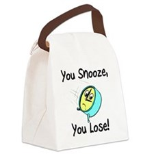 snooze Canvas Lunch Bag