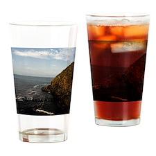 Blow Hole Ensenada Mexico-11x11 Drinking Glass