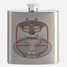 123hockeyboythree Flask
