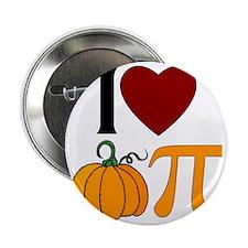 """I Heart Pumpkin Pi 2.25"""" Button"""