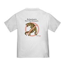 Toddler T-CM Girl front Dino back #ITD7FD1
