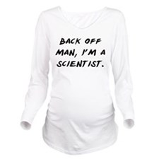 Cute Ghost busters Long Sleeve Maternity T-Shirt