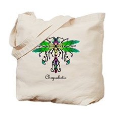 Caveglow Dragonfly pillow Tote Bag