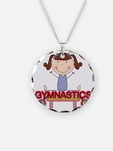 GYMNASTICSONE Necklace Circle Charm